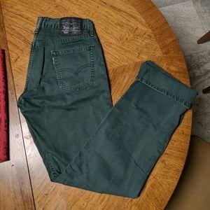Mens Levi's Slim Straight Denim Jeans